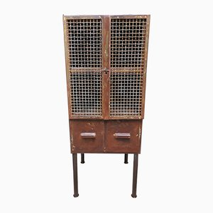 Vintage Workshop Cabinet