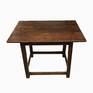 18th Century Patinated & Colored Side Table