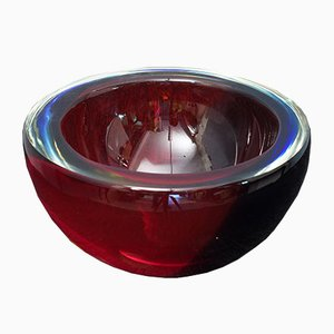Murano Glass Ashtray by Paolo Venini for Venini, 1960s