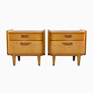 Scandinavian Nightstands, 1960s, Set of 2