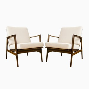 Model 300-139 Armchairs from SFM, 1960s, Set of 2