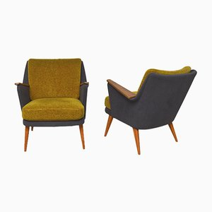 Antimott Lounge Chairs by Wilhelm Knoll for Walter Knoll / Wilhelm Knoll, 1950s, Set of 2