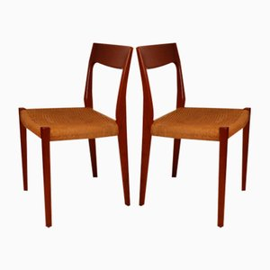 Scandinavian Dining Chairs by Svegards Markaryd, 1960s, Set of 4
