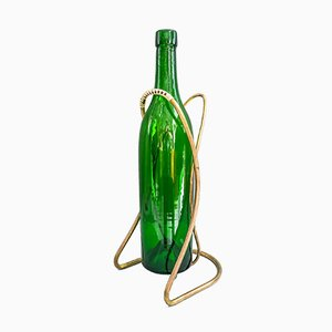 Large Austrian Bottle Holder for 3 Liter Wine Bottles, 1950s