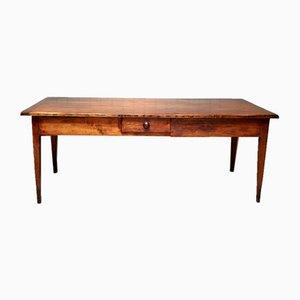 Antique Rustic Cherry Farmhouse Table
