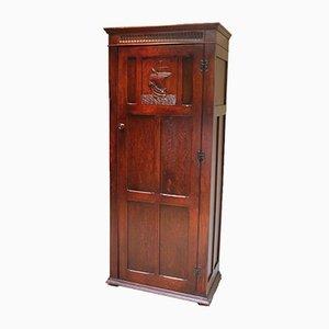 Oak Hall Cupboard, 1920s