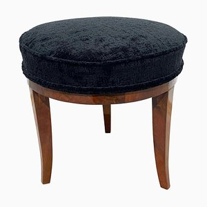 Round Biedermeier Stool or Pouf, South Germany, 1820s