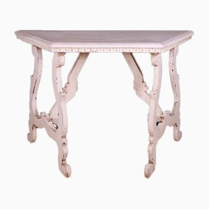 Antique Italian Painted Console Table