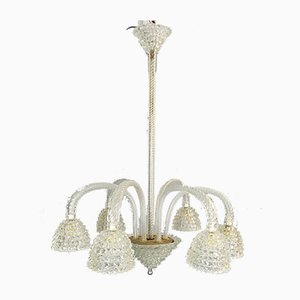 Mid-Century Chandelier from Barovier & Toso