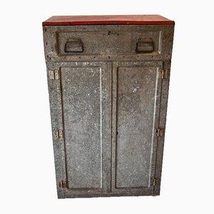 Vintage Sheet Metal Cabinet, 1950s