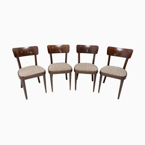 Dining Chairs from Thonet, Czechoslovakia, 1950s, Set of 4