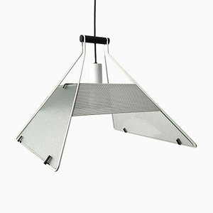 Model Trapezio Ceiling Lamp by Salvati Tresoldi for Luci Italia, 1980s