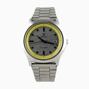 Große Gelbe Seamaster Uhr von Omega, 1960er