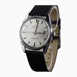 Reloj cronómetro de acero de Breitling, Switzerland, años 60