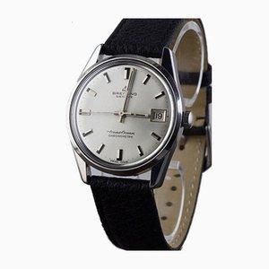 Stahl Chronometer Uhr von Breitling, Schweiz, 1960er