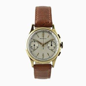 Chronograph Uhr von Wakmann, Schweiz, 1950er