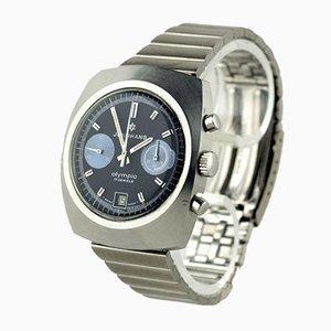 Reloj olímpico cronógrafo de Junghans, Germany, años 70