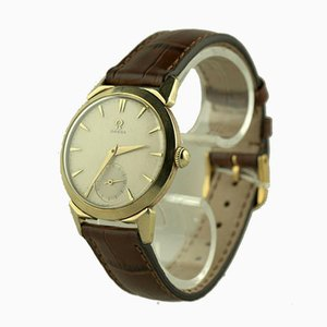 Plaque d'Or 80 Micron Watch from Omega, Switzerland, 1950s