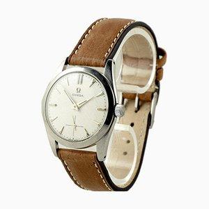 Reloj manual de acero inoxidable de Omega, Switzerland, años 50