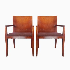 Californian Dining Chairs, 1980s, Set of 4