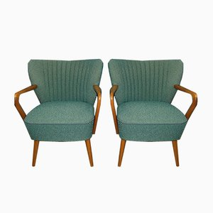 Mid-Century Club Chairs, 1950s, Set of 2