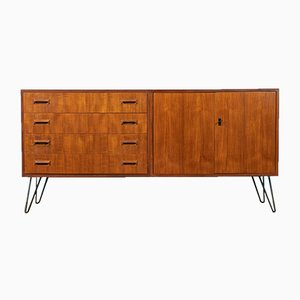 Teak Veneer Sideboard from DeWe, 1960s