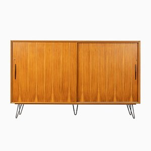 Walnut Veneer Highboard, 1950s