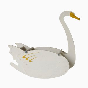 Children's Toy Swan Rocking Chair by Ko Verzuu for ADO, 1920s