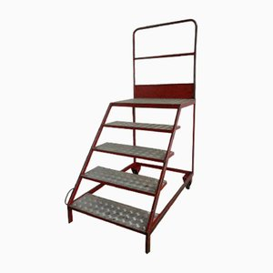 Italian Iron Step Ladder, 1970s