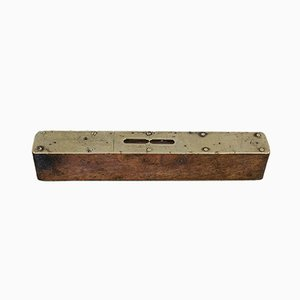 Vintage English Rosewood Craftsmans Instrument Spirit Level, 1950s