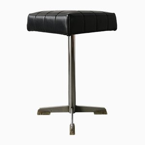 Mid-Century Swivel Bar Stools, Set of 2