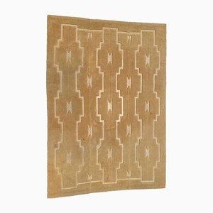 Cream Woolen Carpet from Manufacture de Cogolin, 1970s