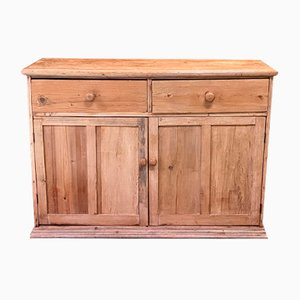 19th Century Victorian English Pinewood Buffet