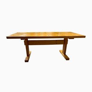 Tavolo da pranzo Les Arcs Mid-Century di Charlotte Perriand, anni '60