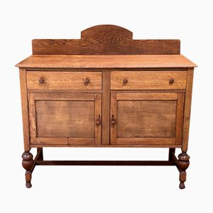 Vintage English Oak Buffet