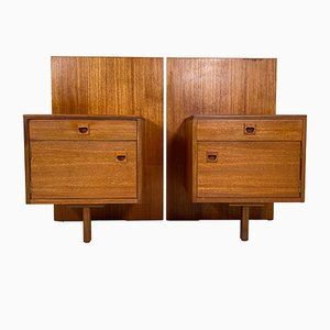 Teak Nightstand by Alfred Cox for Alfred Cox, 1960s