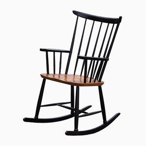 Mid-Century Elm Rocking Chair