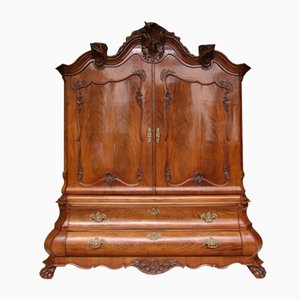 18th Century Baroque Dutch Cabinet