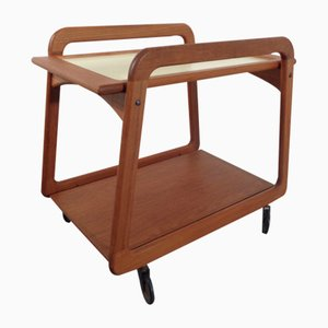 Danish Teak Serving Cart from Sika Møbler, 1960s