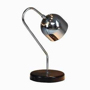 Vintage Italian Chrome Table Lamp, 1960s