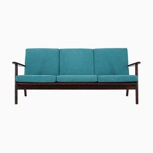 Danish Teak 3-Seat Sofa, 1960s