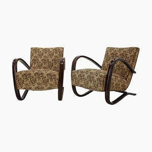 Model H269 Armchairs by Jindrich Halabala, 1930s, Set of 2