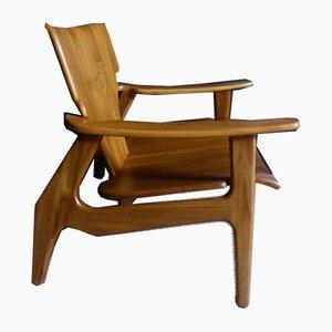 Vintage Teak Armchairs, Set of 2