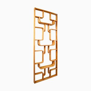 Mid-Century Room Divider in Blond Bentwood by Ludvik Volak for Thonet, Czech Republic, 1960s