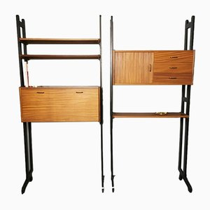Vintage Wall Unit from Simpla Lux, 1960s