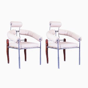 Pirmin Chairs by Heinz Julen, 1990s, Set of 2