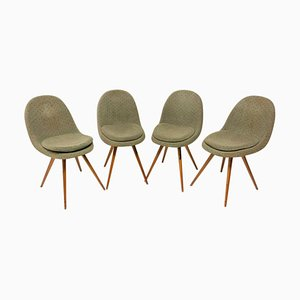 Mid-Century Dining Chairs by Frantisek Jirak for Tatra Pravenec, 1960s, Set of 4