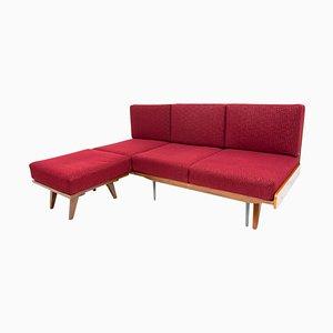 Mid-Century Folding Corner Sofa by Frantisek Jirak for Tatra Nábytok, 1960s