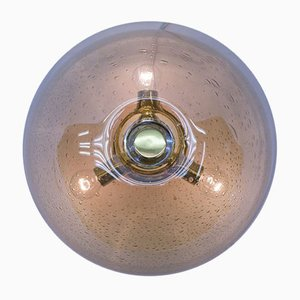 Vintage Glass Ceiling Lamp from WILA, 1970s