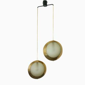 Mid-Century Model 1205 Ceiling Lamp from Stilnovo